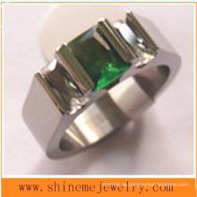 Fashion Wire Cut Edelstahl Titanring (TR1830)