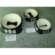 Керамические собаки миски (CY-P5752)