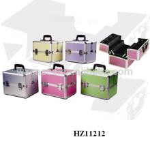 new design aluminum cosmetic case with multi colors