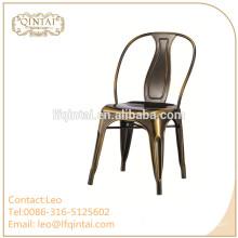 Sillas baratas de metal al por mayor para muebles de restaurante.