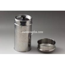 Contenedor de metal con tapa (diferentes opciones de capacidad)