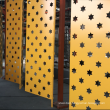 CNC Laser Cutting Aluminum Carved Panel Perforated Aluminium Panels decorative Partition for claddingfacade curtain wall