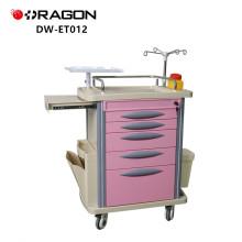 Hospital Equipment Function Medical Emergency Trolley Cart