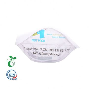 Bolsa de envasado de alimentos Biodegradable Stand Up Pouch