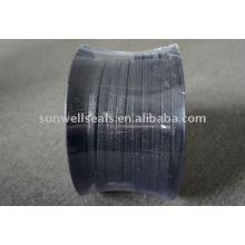 Уплотнение из углеродного волокна, армированное инконелем, графитом