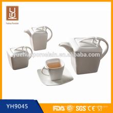 Cerâmica, chá, café, jogo, chá, pote, jogo, açúcar, pote, leite ...