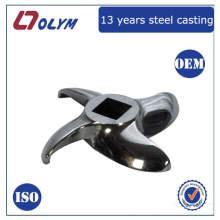 ISO certificado fábrica OEM acero inoxidable piezas de cera perdida piezas de corte de la máquina