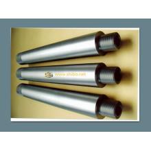 Électrode de molybdène de grande pureté d'électrode de molybdène avec fileté