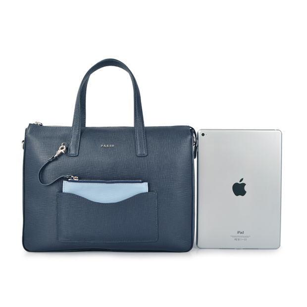 leather bag women's business handbag