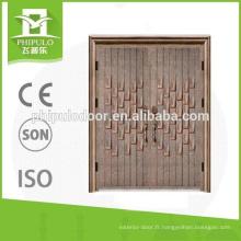 Porte en aluminium coulé de première qualité