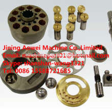 HPV95 Pièces de pompe principale hydraulique pour PC200-6 PC200-7 PC200-8 pelle pompe principale 708-2L-33211 plaque de soupape de bloc-cylindres