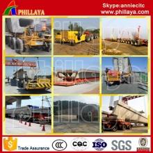 Heavy Duty 200 500tonnage viga /Bridge transporte vehículos remolques