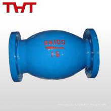 flotador vertical de la microresistencia de Daniel 4 válvula de retención de la bola dn15 sin golpe