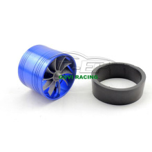 Universal Blue 63mm Turbo Fan Turbocharger Supercharger for Intake Kits