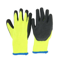 Tuff Grip Thermal Glove Latex Dipped Fleece Lined Gloves For Fruit Picking Warm Wet Dry