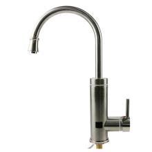 Grifo eléctrico de la calefacción de la cocina del grifo del calentador de agua caliente del acero inoxidable A18 con la exhibición digital del LED