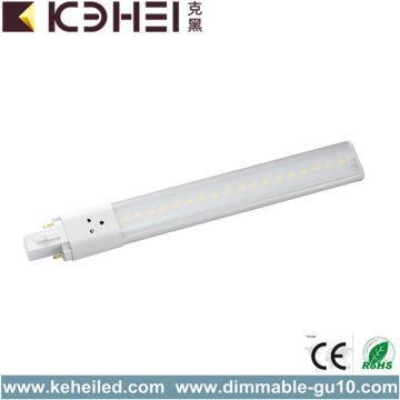 6W Hög Luminans G23 LED Rör Light 4000K