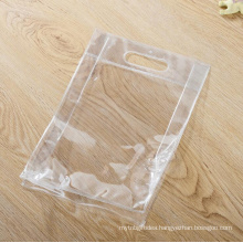 Waterproof Transparent Packaging Pvc Bag Plastic Piping With Button From Oem