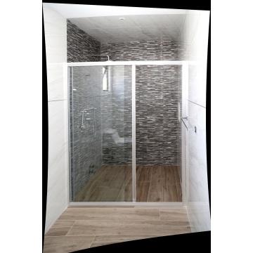 Sliding Door Tempered Glass Bathroom shower Enclosure