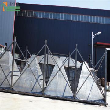 Colector de polvo de cerámica de barriles múltiples para horno de aire caliente