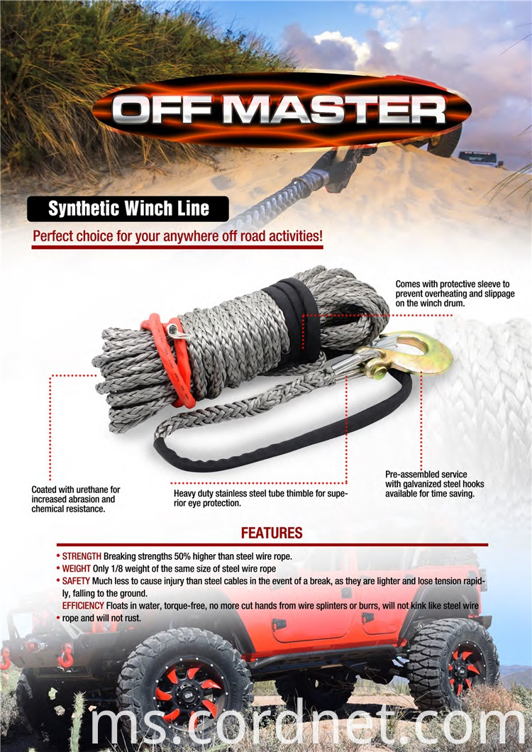 Winch Rope Detais 01
