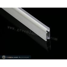 Pulverbeschichtete weiße Rollounterschiene aus Aluminium
