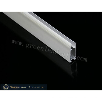 Aluminium Bottom Rail for Roller Blind with Powder Coated