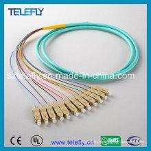 Sc Om3 12 волоконно-оптический кабель для патч-кордов