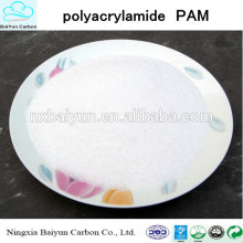 Poliacrilamida PAM / poliacrilamida aniónica / poliacrilamida catiónica