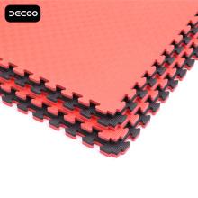 Tapis de Taekwondo couleur noire et rouge Five Stripes
