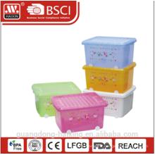 Conteneur de stockage en plastique W/roues 27L / 40L