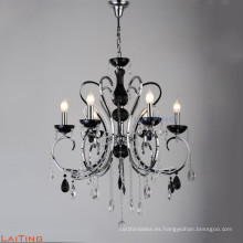 Lámpara de cristal moderna india de la aleación del cinc que cuelga para la venta LT-85504