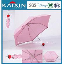 Parapluie pliable auto ouvert et fermé