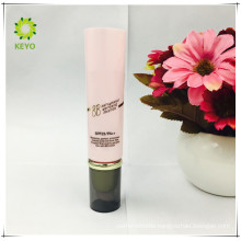 luxury pink colored empty cosmetic packing skin care cream cosmetic tube