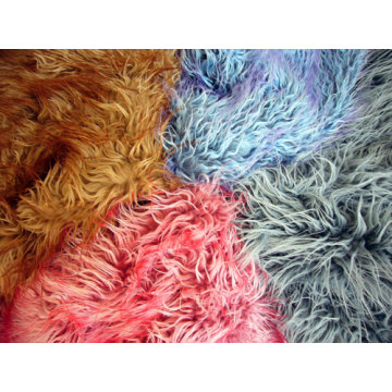 Tip Imitation Tan Sheep Fabric Faux Fur