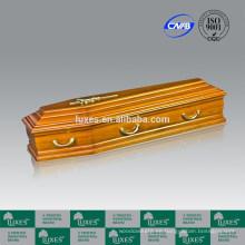Precios de ataúdes de madera y Metal estilo italiano ofrecen de fabricación China