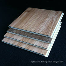 PVC-Laminatboden WPC-Laminatboden Wasserdichtes Holzmaserung-Bodenbelag Gute Qualität Wettbewerbsfähige Preise