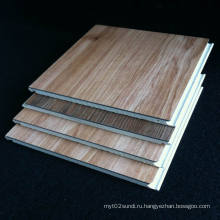 ПВХ ламинат WPC настила ламината древесины зерна Водонепроницаемый ламинат полы хорошего качества низким ценам