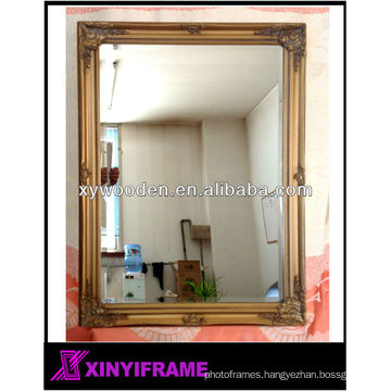 Bevel Glass or Flat Glass Mirror Frames stick on the Wall