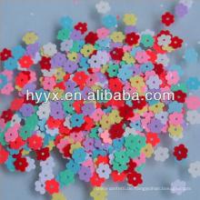 Kleine Blume Konfetti In Solid Color