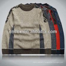 12STC0622 chandails lourds à la mode pour les hommes