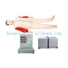 Manequim Automático de Treinamento de CPR de Computador Automático ISO