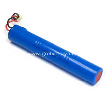 LiFePO4 battery pack 26650 3S1P 9.6V 3200mAh with PCB/wire/connector for solar