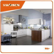 Cocina moderna de diseño de alta calidad gabinetes de cocina de PVC