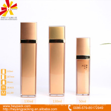 50 130ml goldene AS Luxus Airless Sahne Flasche