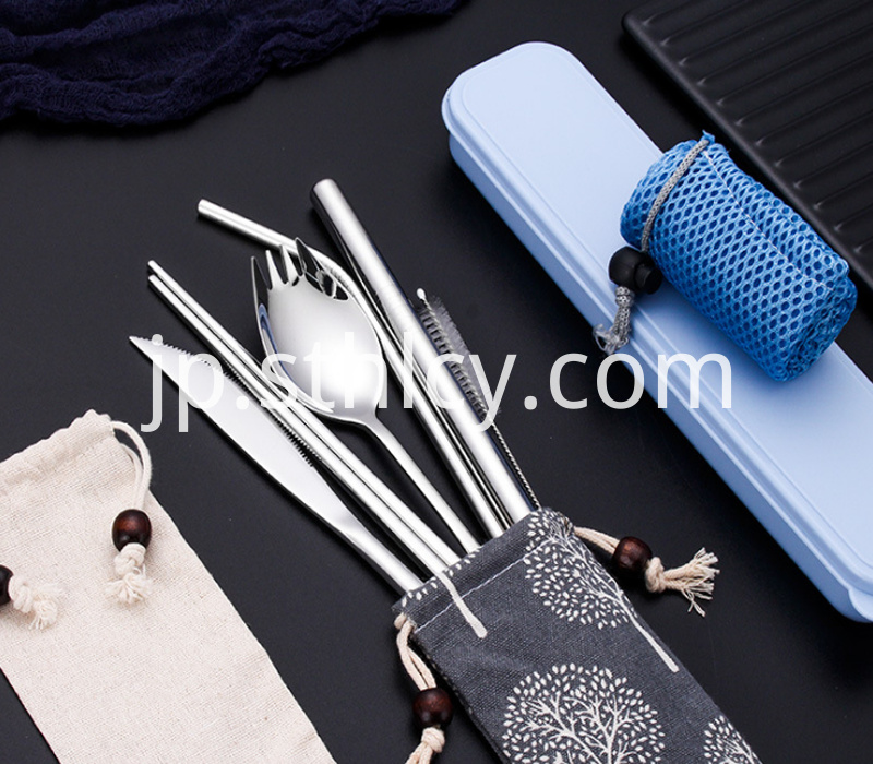 304 Exquisite Stainless Steel Straw Suit