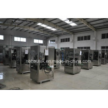 12000bph automatische PVC-Schlauch Flasche beschriften, schrumpfende Maschine