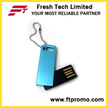 Мини-USB флеш-накопитель с логотипом (D707)