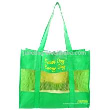 Grand sac à provisions transparent pliable spécial clair
