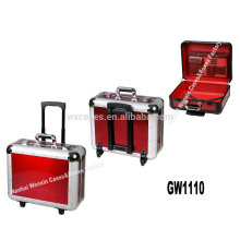 new arrival--fashional strong&portable aluminum trolley luggage wholesale manufacturer